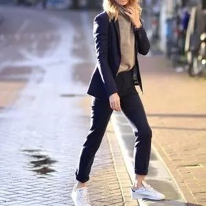 Reiss Seville Tailored Trouser Slim Leg Navy Blue Size 4